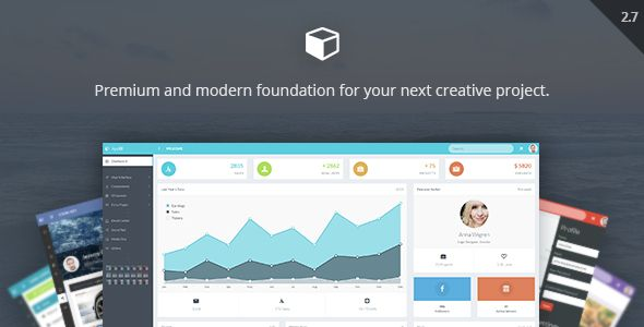 AppUI - Web App Bootstrap Admin Template . AppUI has features such as High Resolution: Yes, Compatible Browsers: IE9, IE10, IE11, Firefox, Safari, Opera, Chrome, Edge, Compatible With: Bootstrap 3.x, Columns: 3