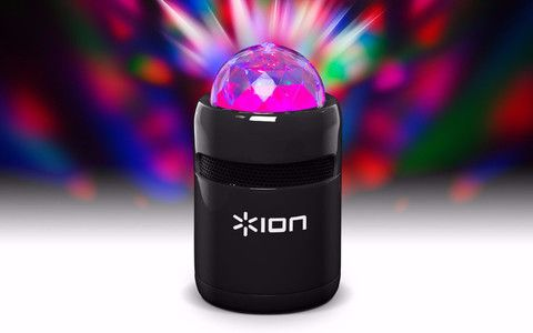 Portable Bluetooth Speaker With Built-In Light Show