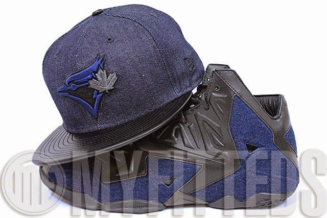 27f36ff6b KIX & LIDZ: New Era 59FIFTY: Toronto Blue Jays - Dark Blue Denim ...