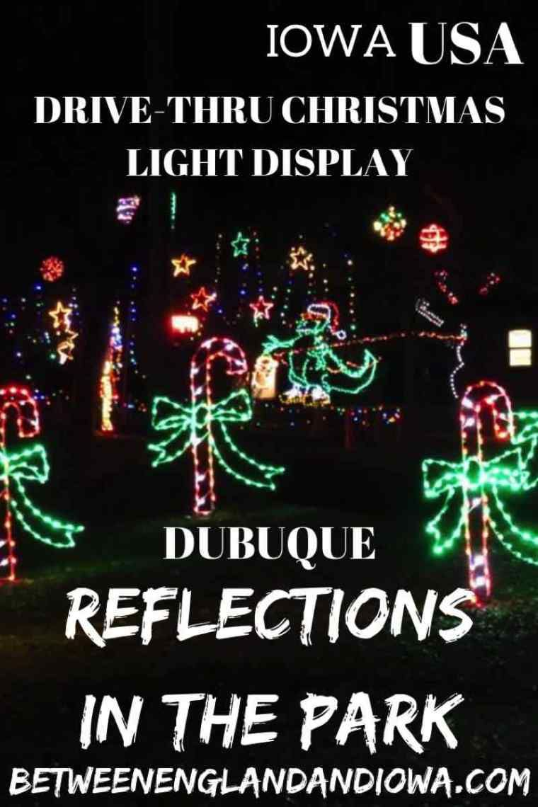 Murphy Park Dubuque Christmas Lights 2020 2019 Reflections in the Park Dubuque Iowa: Drive Through Christmas