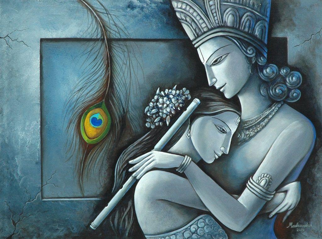 Anyahh Paintings Krishna Painting Krishna Radha Painting