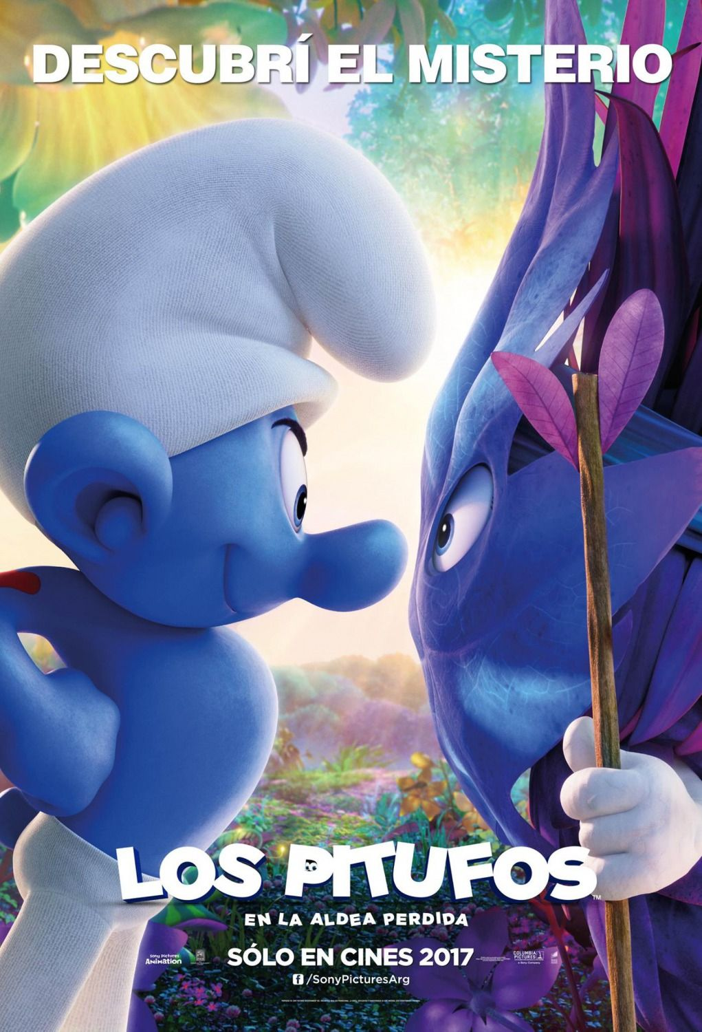new movie posters for smurfs the lost village movie