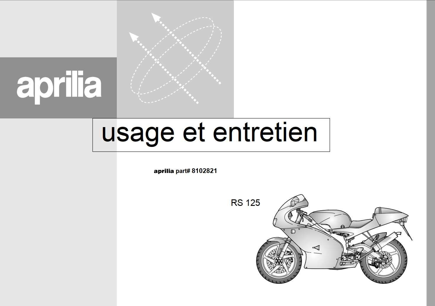 Aprilia Rs125 1999 Owner S Manual Has Been Published On Procarmanuals Com Https Procarmanuals Com Aprilia Rs125 1999 Owners Man Aprilia Manual Owners Manuals