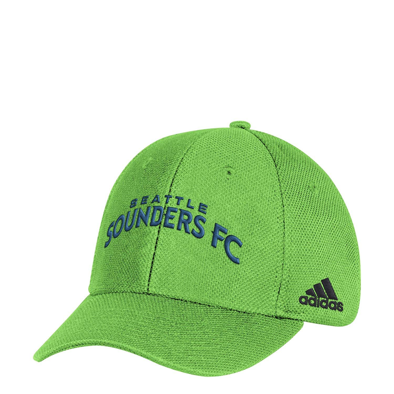 half off f4c0c fe445 ... best adidas mls seattle sounders fc adult men wordmark mesh structured  adjustable hat 24.00 f2ac2 663a7
