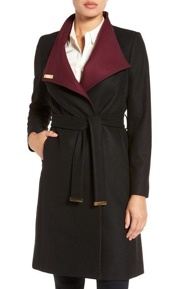 TED BAKER Wrap Coat. #tedbaker #cloth #