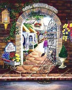 The Courtyard Shops ~ Mary Irwin