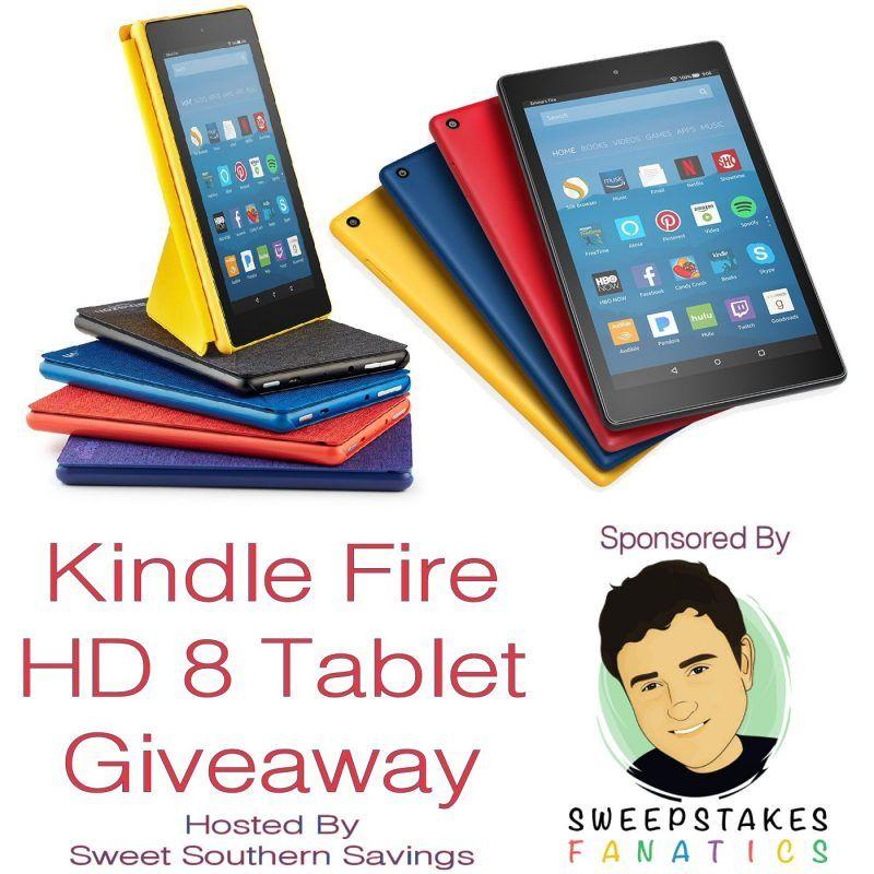Kindle Fire Hd 8 Tablet With Alexa Giveaway 8 6 Sweepsfanatics