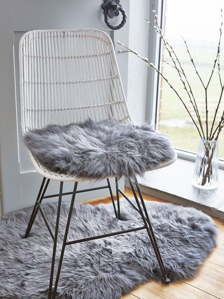 Part of our new Nordic sheepskin collection, our beautiful grey long wool seat covers are made from the most luxuriously soft natural sheepskin.