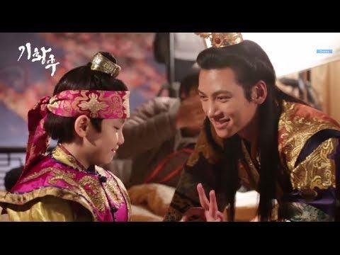 Empress Ki BTS - Kyaaaa, gwieopdaaa! Changwook and Jiwon are so adorbs ^^ 20140418