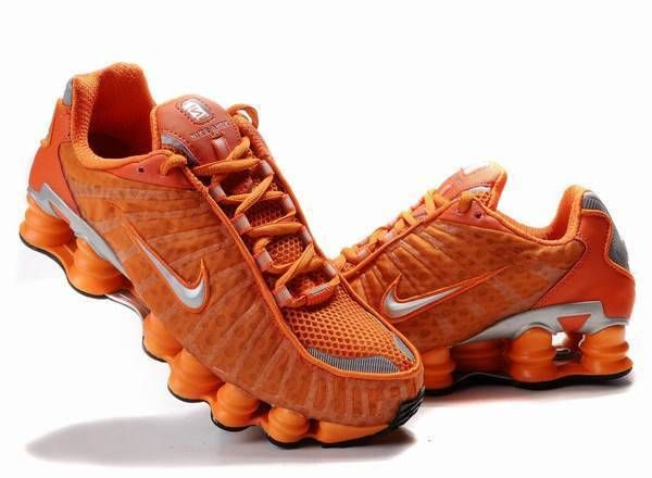 low priced 81ce1 329d6 Nike Shox TL1 mens all orange