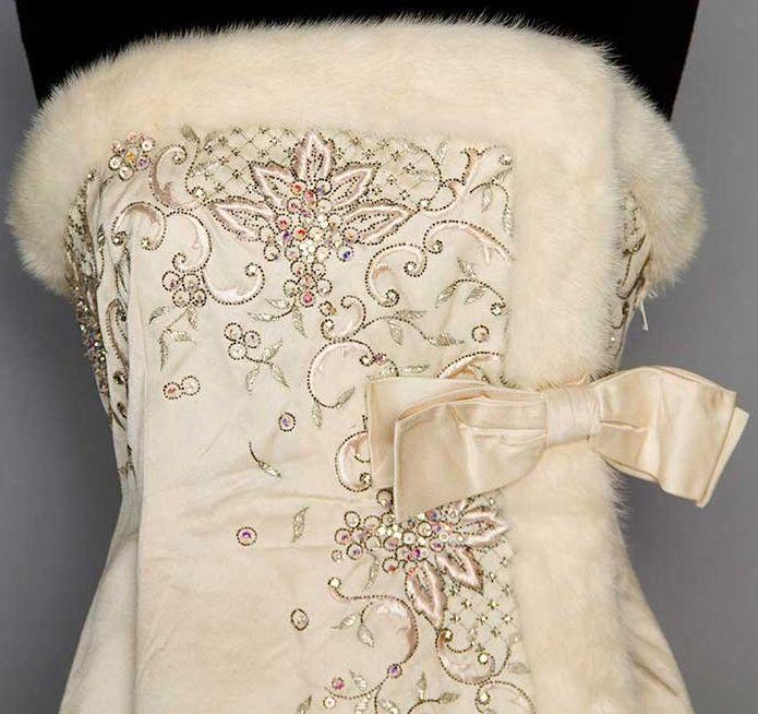 Robe bustier annee 60