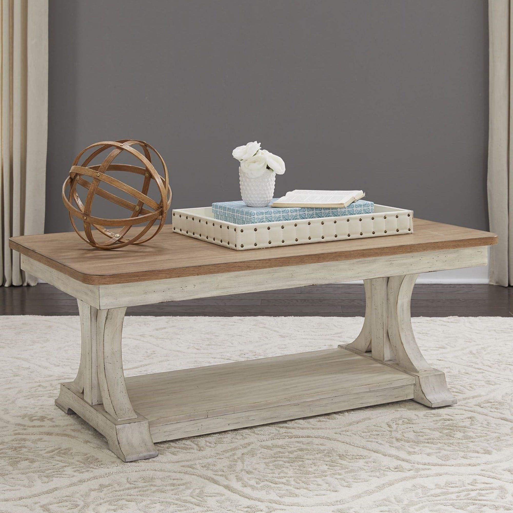 Farmhouse reimagined cocktail table in 2020 sunroom