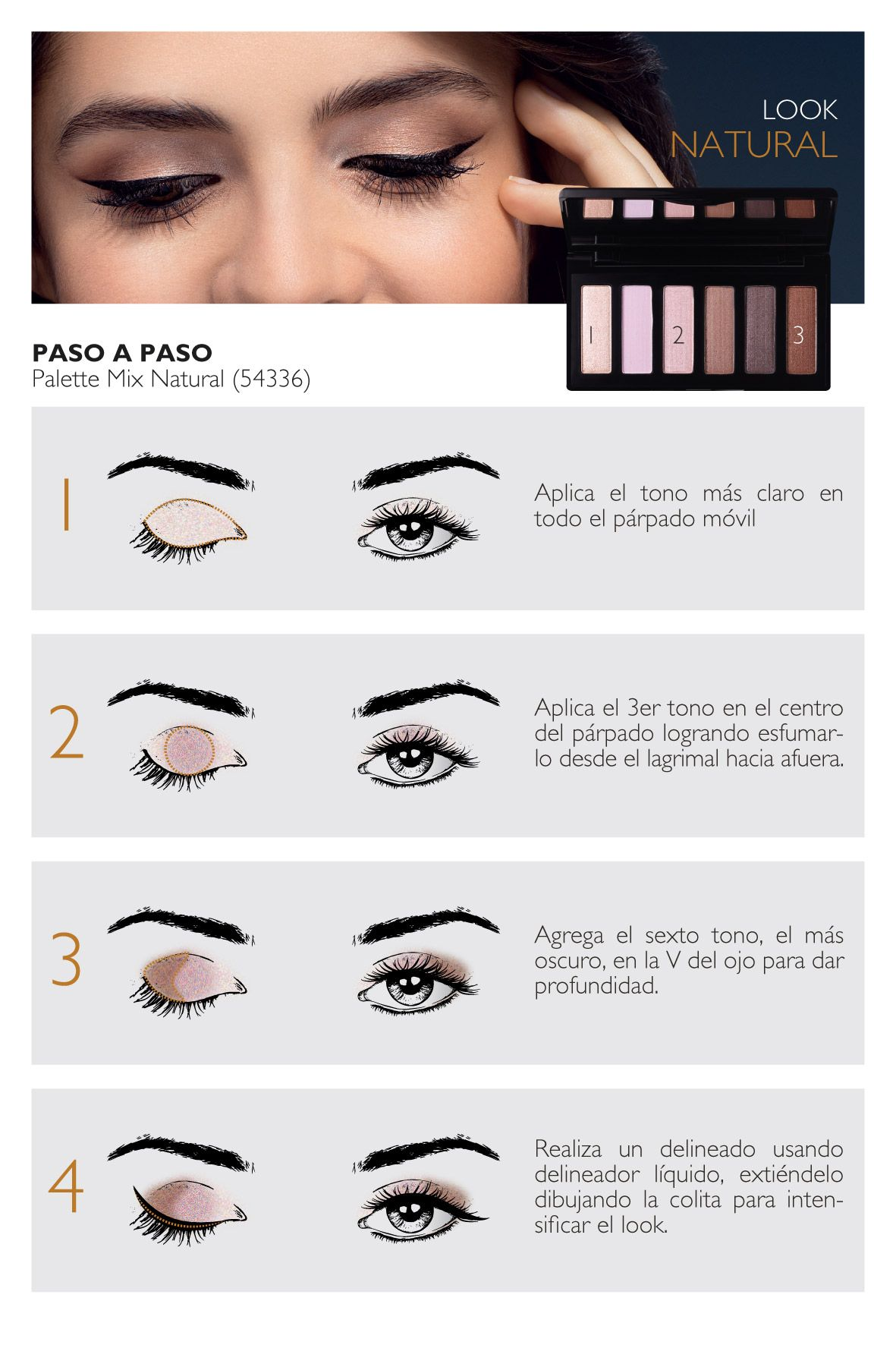 d4eef8f75 Natura cosméticos - Portal de maquillaje - Paso a Paso   Belleza ...