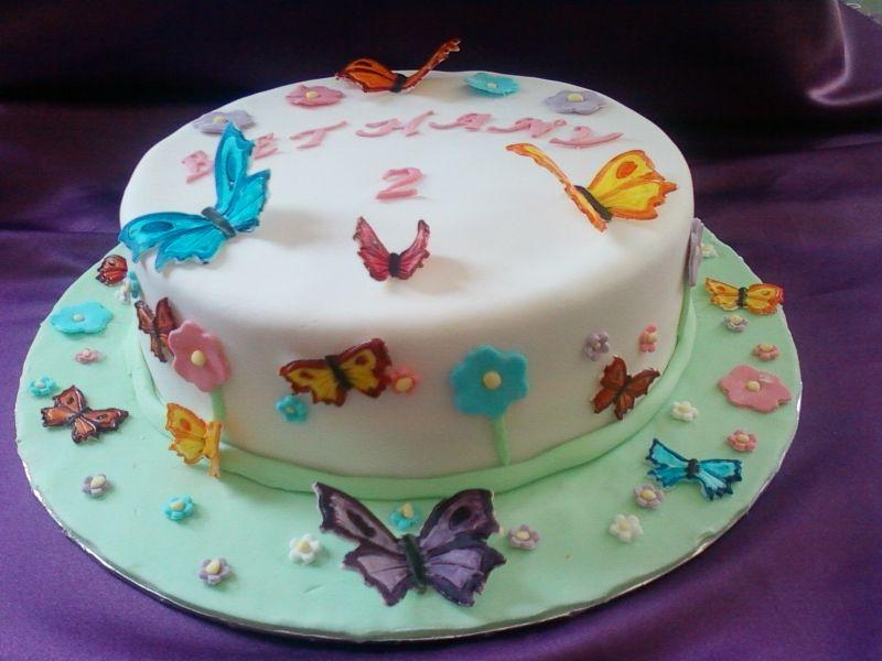 Bella anche questa con le farfalle Party Mama Pinterest