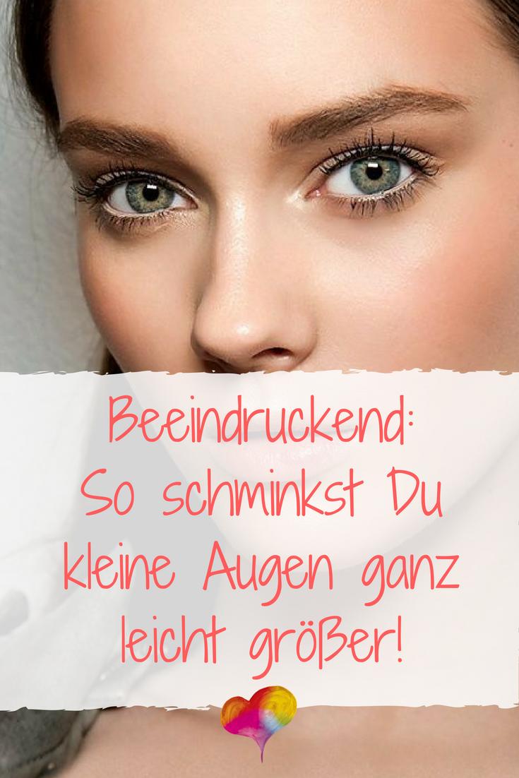 Photo of Kleine Augen größer schminken: Diese 6 Tricks solltest Du kennen!