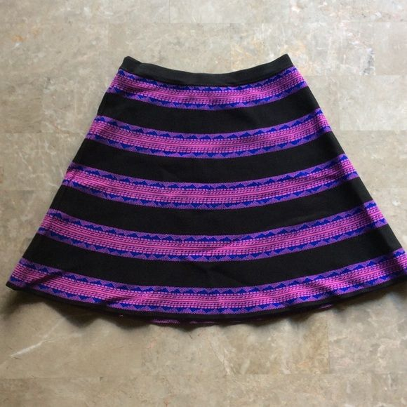 "Super cute electric colored skater skirt S Super cute electric colored skater skirt S. 17"" long Skirts"