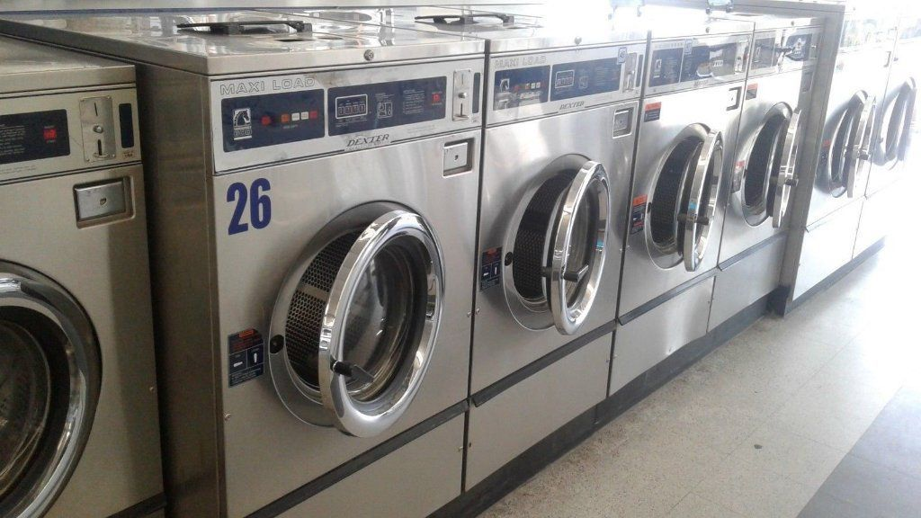 Good Condition Dexter T600 Frontload Washer 220 240v 3ph Stainless