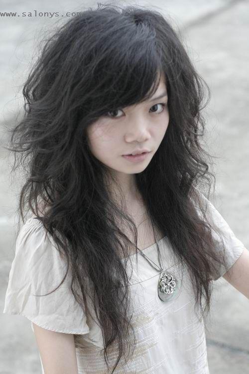 Cool Asian Female Hairstyles Asian Hair Asian Hair Hair Styles Long Hair Girl