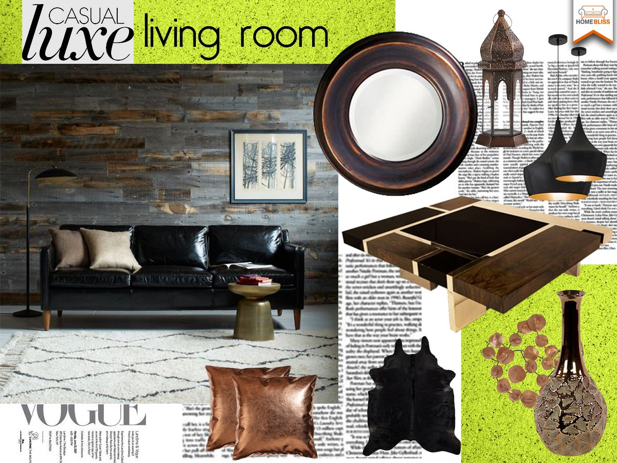Casual Luxe Living Room | Casual living rooms, Luxe living room, Living room