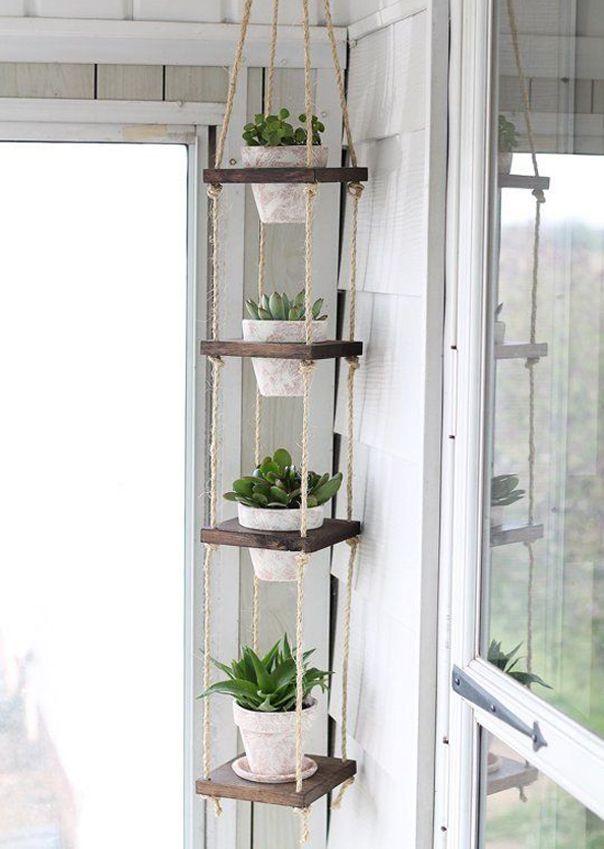 Pflanzenständer Indoor Metall Indoor Plant Wandregal Glas