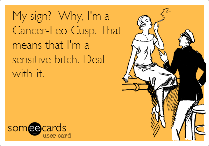 Cancer leo cusp dating leo male personality