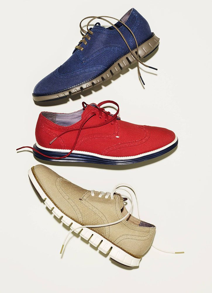 When wingtip design blends with sneaker comfort, you get the perfect shoe  for work, · Cole Haan ...