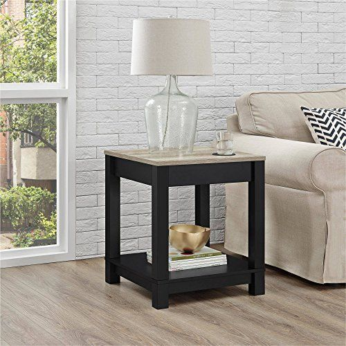 Wood sofa langley bay side end table storage shelf for living room furniture mattsglobal also rh pinterest