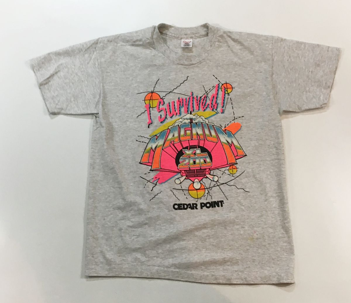 c23a4d435 Reware Vintage: Cedar Point Magnum XL-200 T Shirt | Vintage T Shirts ...