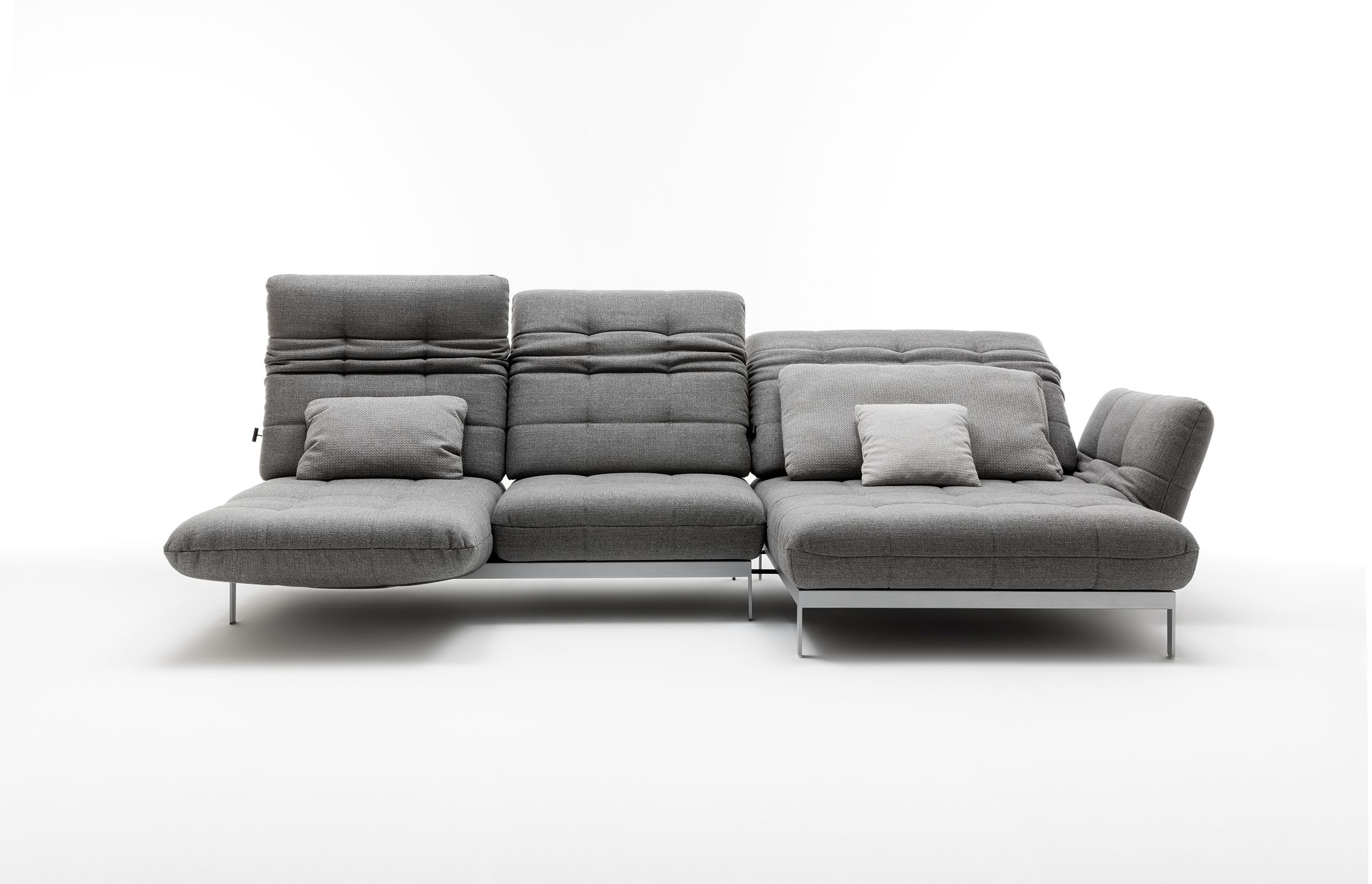 comfortable rolf benz sofa. Recline, Relax, Lay-back In The Rolf Benz AGIO Sofa Bed. Comfortable L