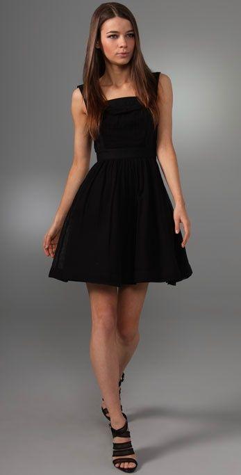 Cute Black Party Dresses Photo Album - Reikian