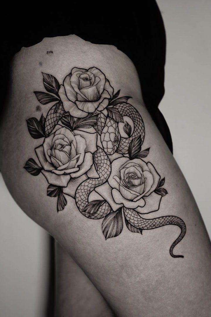 23+ Gorgeous Rose Tattoo ideas for women - Viсtoria Lifestyle blog