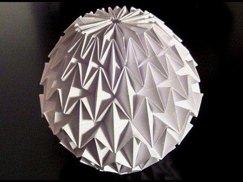 how to make an origami magic ball youtube pdf
