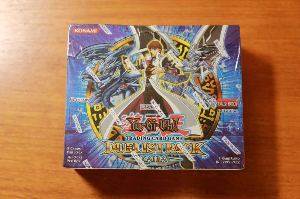 Details about yugioh dpkb duelist pack kaiba 1st edition