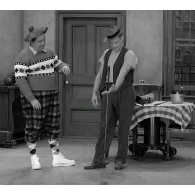 "The Honeymooners ""Hello Ball"" Ralph (Jackie Gleason"