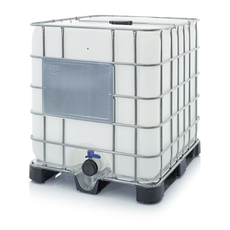 Neu Ibc Container 1000 L K150 80 Mit Gitter Water Storage Tanks Water Storage Storage Tank