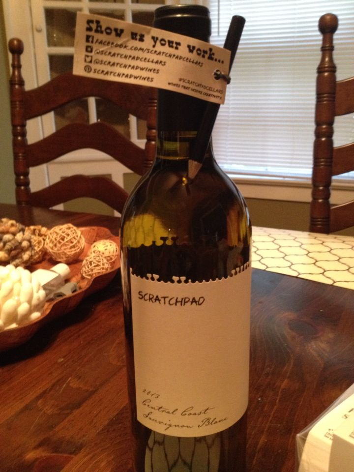 Scratchpad cellars wine- perfect for party favors!!