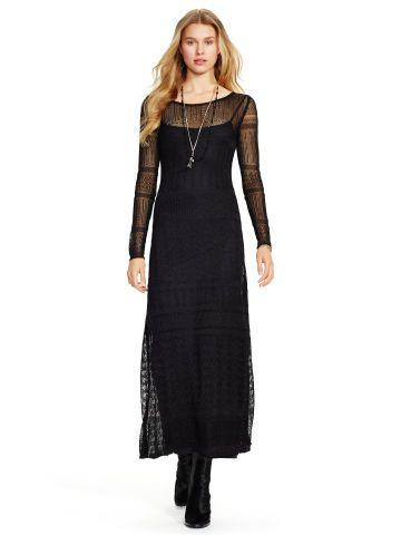 5ee94fe4013 Pointelle-Knit Maxidress - Polo Ralph Lauren Maxi Dresses - RalphLauren.com