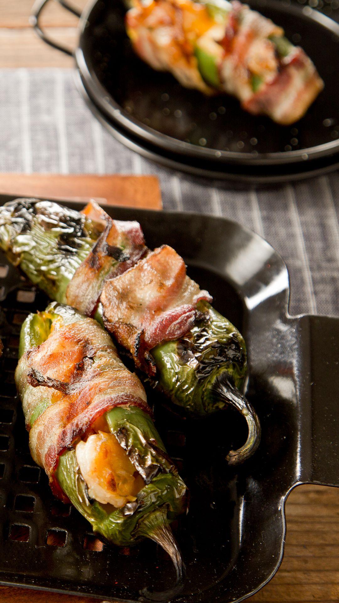 Bbq Shrimp Stuffed Jalapeno Popper Recipe In 2020 Spicy Recipes Bbq Recipes Bbq Shrimp