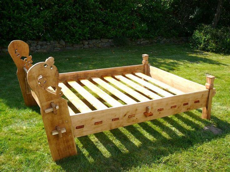 Viking Bed Construction Plans Google Search Vikingi Mebel Iz