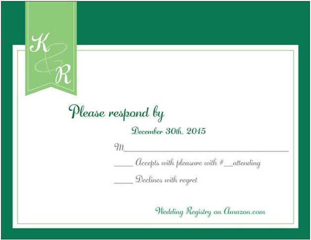 rsvp card on vistaprint  rsvp card my wedding rsvp
