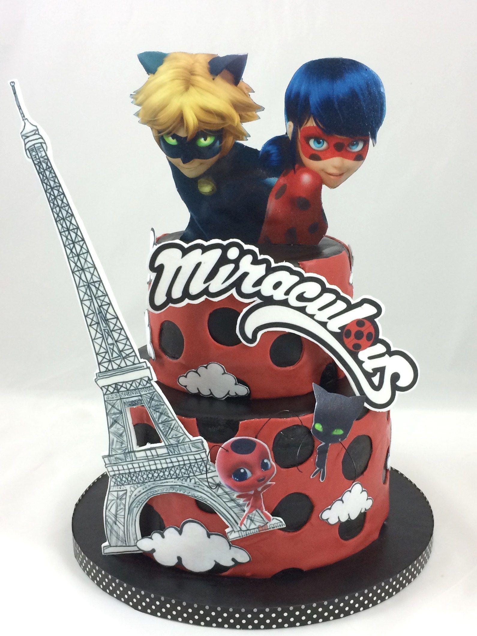 Miraculous Cake Torte Paris   Ladybug in 2019   Ladybug ...