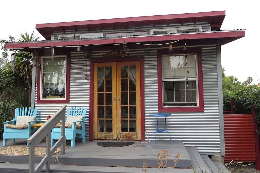 Art Studio Retreat/Rustic Cabin Cabins for Rent in San