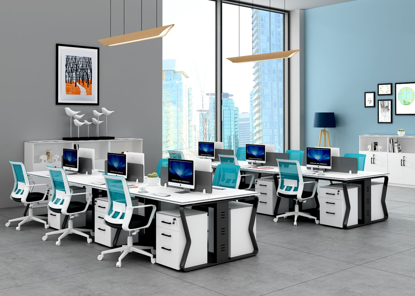 Customized Office Desk Office Workstations Office Furniture Manufacturers Workstation