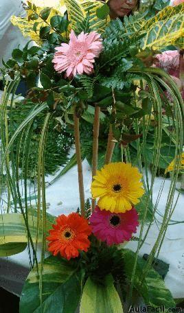introduccin en este curso de floristera queremos ensearte de una manera fcil y rpida de hacer bonitas composiciones florales - Composiciones Florales