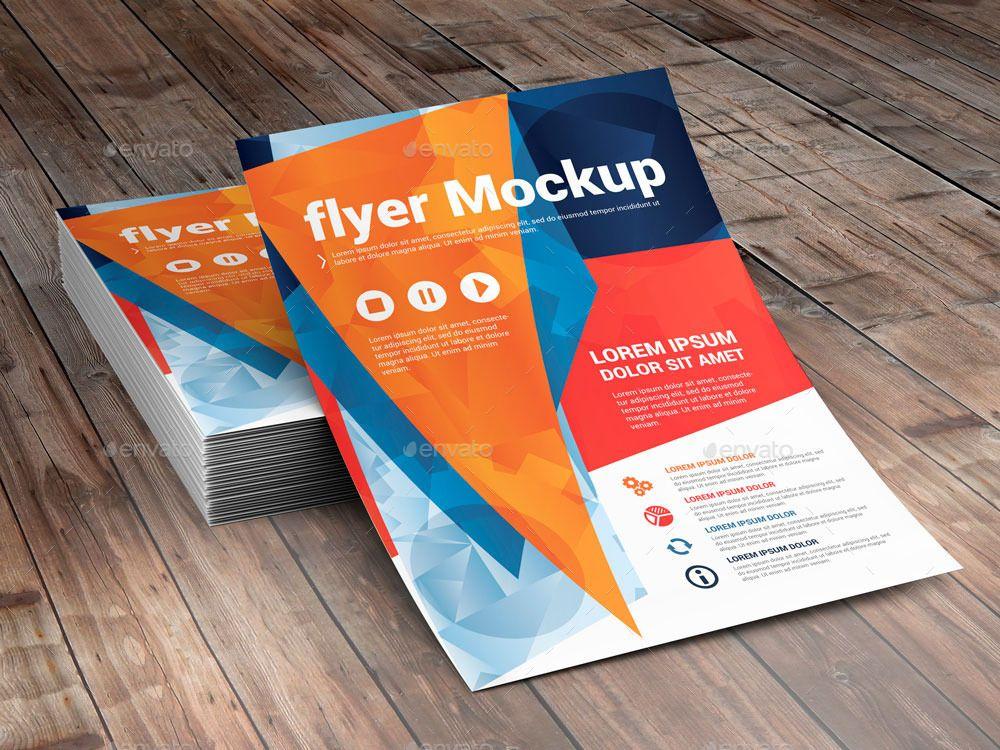100+ Best PSD Flyer Mockup Designs Free & Premium Downloads