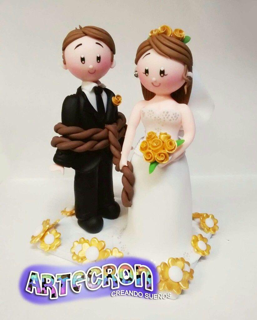 Wedding cake topper | Inspiration - Cartoon | Pinterest