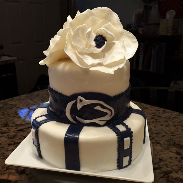 Jd Cakes Go Penn State Graduation Party Cake Jd Cakes