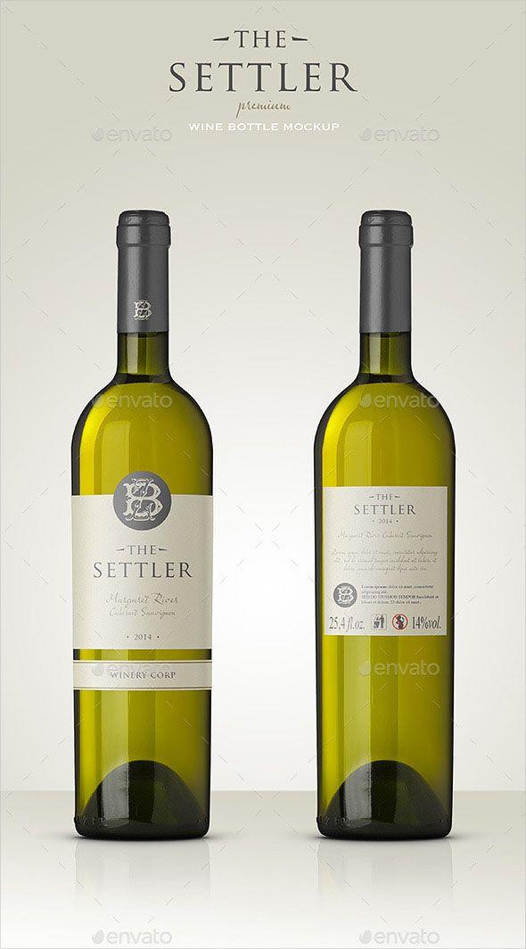 Premium White Wine Mockup Premium White Wine Mockup A Premium Quality Bottle Mockup Perfect To Show Case Etiquetas De Vino Photoshop Presentaciones Power Point