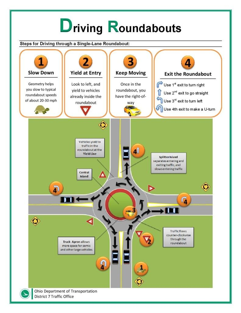 tips for drivers test ohio