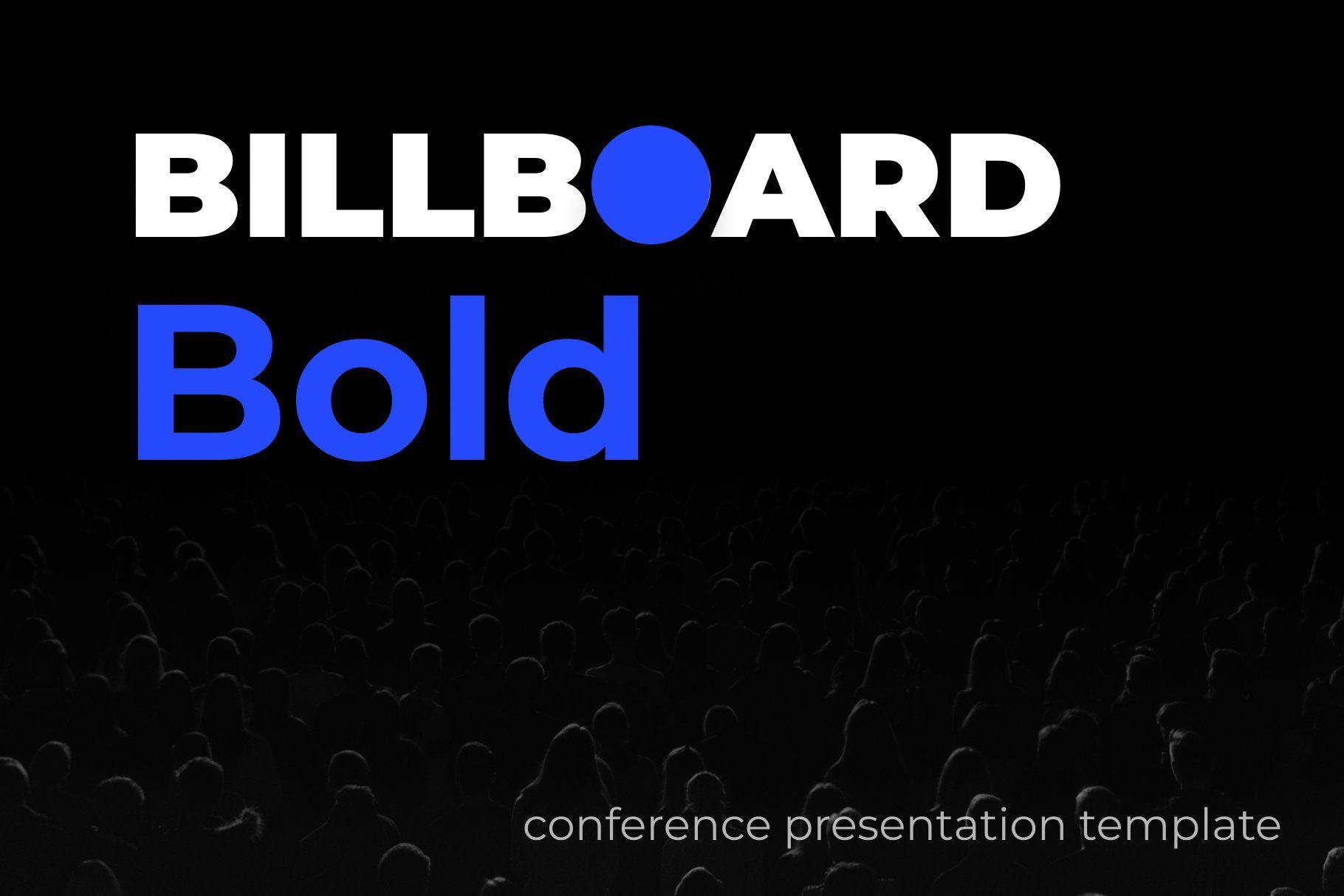 Billboard Bold by BaseTemplates on creativemarket Get it